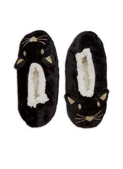 Fuzzy Animal Slipper Socks - 3130055322181