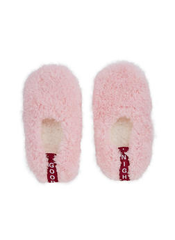 Furry Slipper Socks - PINK - 3130055324091