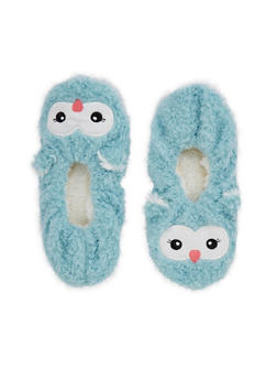 Furry Animal Slipper Socks - 3130055324281