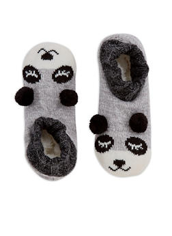 Knit Animal Ankle Slipper Socks - 3130055325001