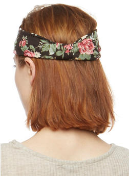 Floral Knot Headband - 3131018433762