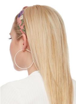 Floral Knot Headband - 3131018433762