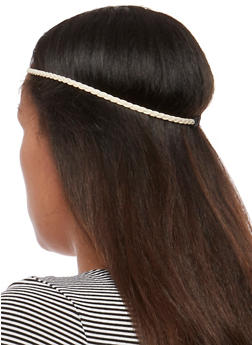 Assorted Embroidered and Braided Headband Trio - 3131018436624