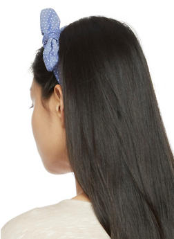Knotted Polka Dot Headband - 3131063090059