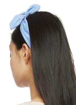 Knotted Polka Dot Headband - 3131063090059
