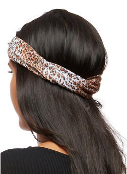 Leopard Multi Functional Headwrap - 3131063090884