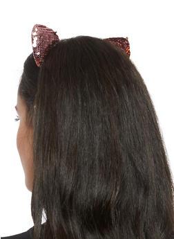Sequin Cat Ear Headband - 3131063091962