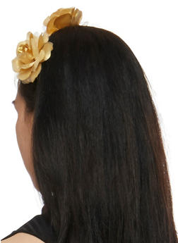Metallic Flower Headband - 3131063094210