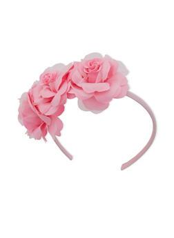 Triple Flower Headband - 3131063095171