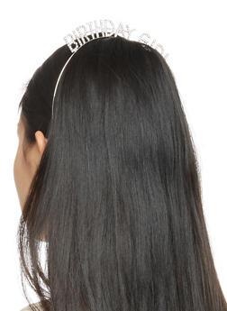 Birthday Girl Rhinestone Headband - 3131074173272