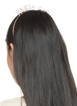 Party Girl Rhinestone Headband - 3131074173273