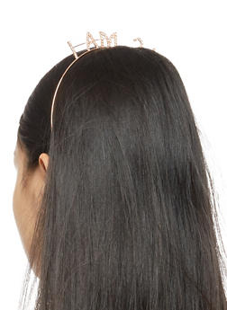I am 21 Rhinestone Headband - 3131074173593
