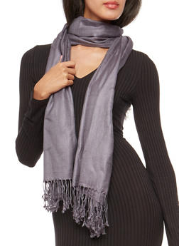 Pashmina Scarf with Fringe - 3132051441000