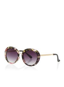 Vintage Oval Sunglasses - 3133024139031