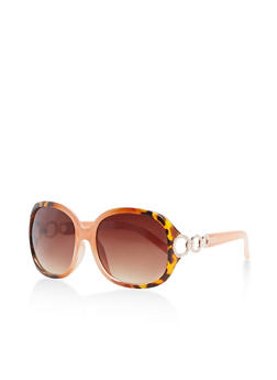 Metallic Side Links Sunglasses - 3134004260054