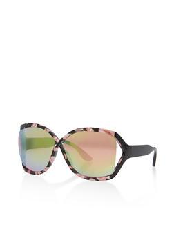 Criss Cross Open Side Sunglasses - 3134004265500