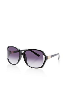 Square Cut Out Sunglasses - 3134073896321