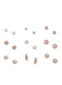 Assorted Stud Earring Set - 3135035152410