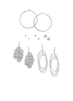 Set of 6 Assorted Earrings - 3135062811018