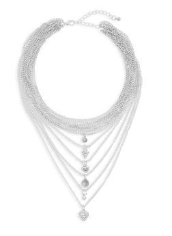 Layered Choker Necklace - 3138035150472