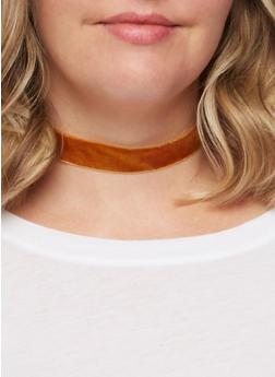 Lace Velvet Choker Necklace Set - 3138058564270