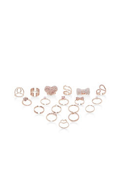 Assorted Ring Set of 18 - 3138062926510