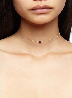 Choker Trio with 8 Assorted Earrings Set - 3138073844676