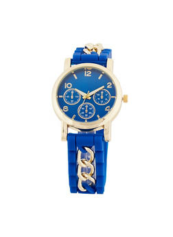 Chain Silicone Watch - 3140071430220