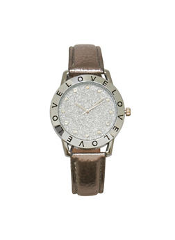 Love Glitter Watch - 3140071431313