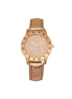 Love Glitter Watch - 3140071431313