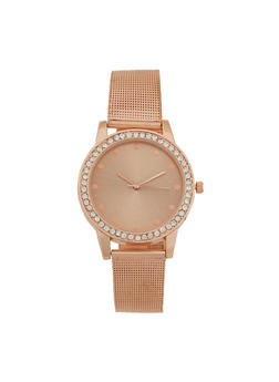 Metallic Mesh Watch - 3140071434081