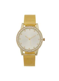 Metallic Mesh Watch - 3140071434081
