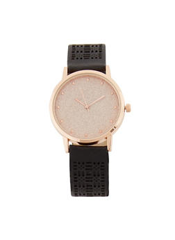 Laser Cut Glitter Watch - 3140071437031
