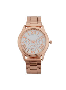 Roman Numerals Face Watch - 3140072696781