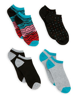 Set of 4 Ankle Socks - 3143041454317