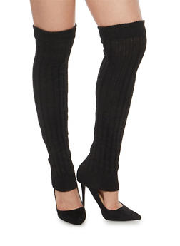 Over the Knee Knit Leg Warmers - 3149068062244