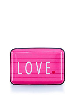 Love Notebook Accordion Card Wallet - 3163067443218
