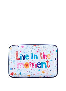 Live in the Moment Accordion Card Wallet - 3163067443518