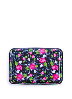 Floral Accordion Card Wallet - 3163067444118