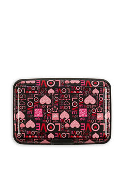 Love Graphic Card Wallet - 3163067446148