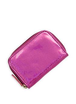 Mini Glitter Zip Wallet - 3163067447084