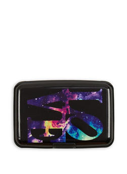 Love Galaxy Graphic Card Wallet - 3163067448148