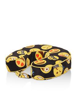 Emoji Print Travel Pillow - 3163073533307