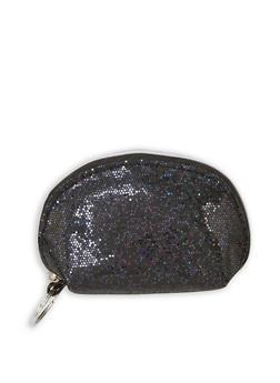 Glitter Coin Purse Keychain - 3163074113216