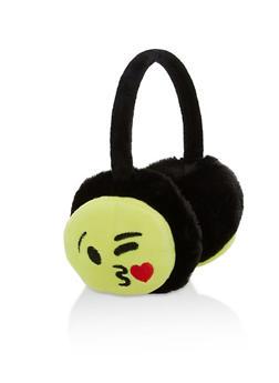 Kissy Emoji Earmuffs - 3183067444444