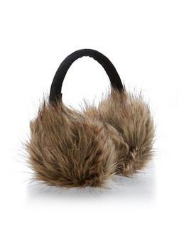 Faux Fur Earmuffs - 3183067444702