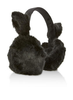 Faux Fur Cat Earmuffs - 3183067444705