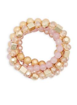 Set of 5 Beaded Bracelets - 3194035155906