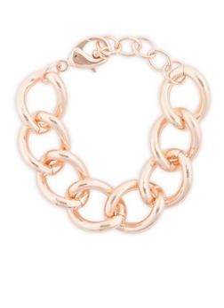 Chunky Chain Bracelet - 3194062921907