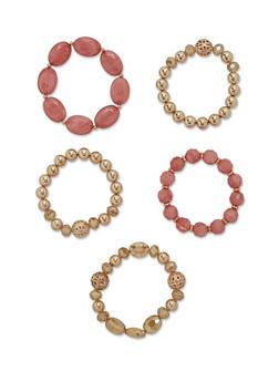Multi Bead Bracelet Set - 3194062923557